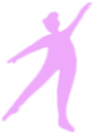 Illustration of a person doing barre