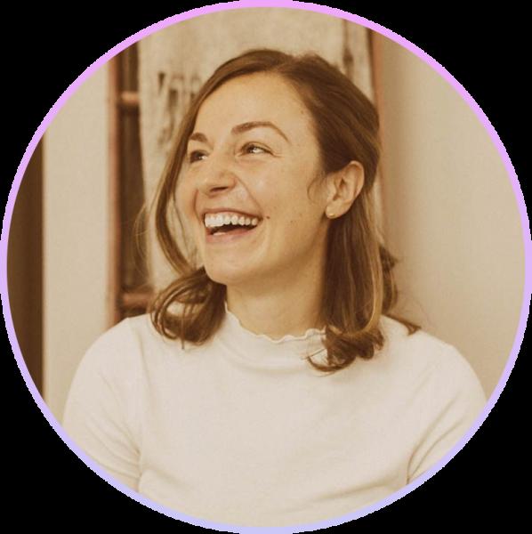 Headshot of SImi Botic, smiling and laughing